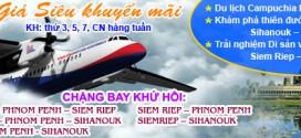 Khám phá Campuchia trọn gói bằng đường hàng không