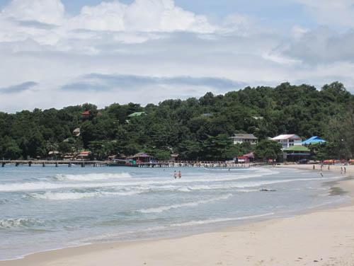 Bãi biển đẹp ở Sihanouk Ville