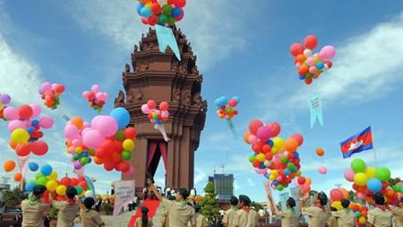 Le hoi tai Campuchia