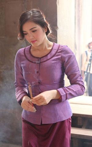 Trang phục của người phụ nữ Campuchia