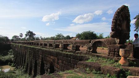 Cau co tai Campuchia