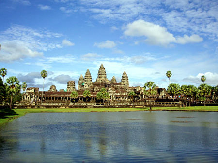 Angkor Wat- Điểm du lịch hấp dẫn của Campuchia