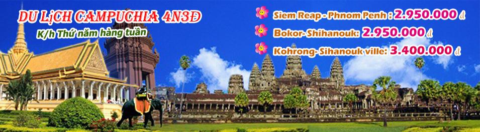 Du lịch Campuchia – Chào Hè 2015