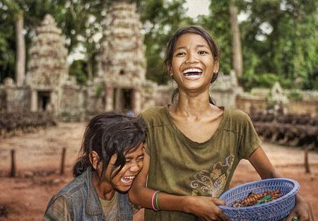 Người dân Campuchia thân thiện gần gũi như người Việt Nam