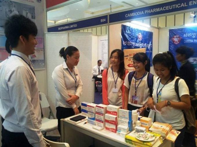 Triển lãm quốc tế đầu tiên về y dược cho thị trường Campuchia