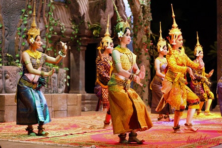 Điệu múa Ápsara- Nét đặc trưng ở Campuchia