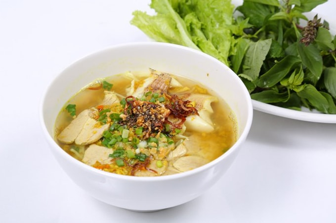 Nom banh chok- Món ăn quốc gia của Campuchia