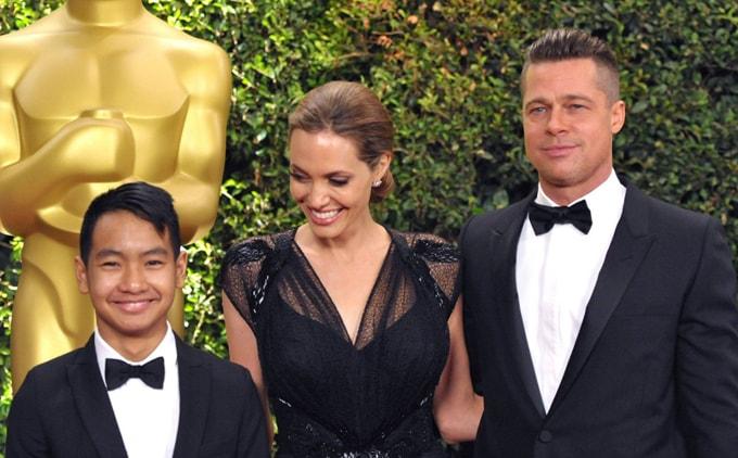 Angelina Jolie va con trai-min