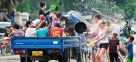 Tháng 4 Campuchia có lễ Hội té nước